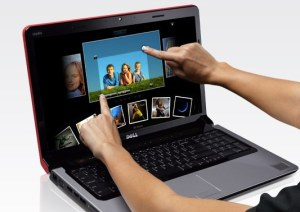 Laptop cu touch