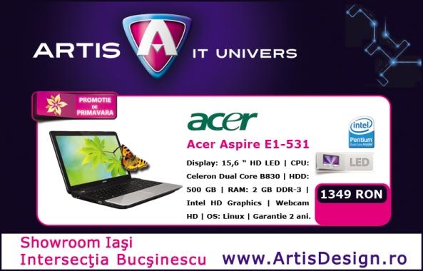 Super oferta la Acer Aspire E1-531