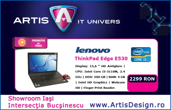 Macheta zile si nopti Lenovo ThinkPad edge e530