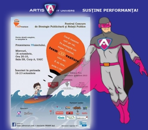 Artis sustine TEAM ADVENTURE 2013