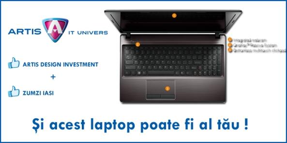 Premiu Laptop Lenovo G580 de la Artis